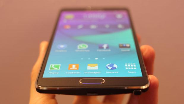 Nhận dạng điện thoại Note 4 chuẩn và dựng